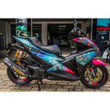 Yamaha Aerox Stickers Kit - 073 - H2 Stickers - Worldwide
