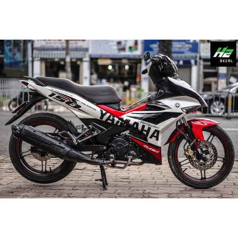 Yamaha Exciter 150 (Y15ZR) Stickers Kit - 116 - H2 Stickers - Worldwide