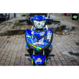 Yamaha Exciter 150 (Y15ZR) Stickers Kit - 119 - H2 Stickers - Worldwide