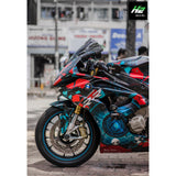 BMW S1000RR Stickers Kit - 022 - H2 Stickers - Worldwide