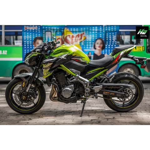 Kawasaki Z900 Stickers Kit - 001 - H2 Stickers - Worldwide