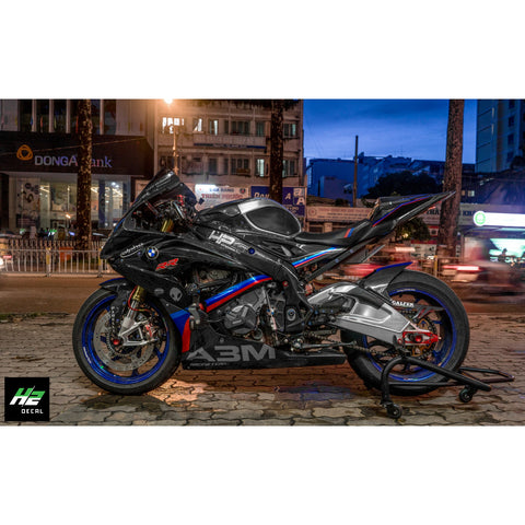 BMW S1000RR Stickers Kit - 024 - H2 Stickers - Worldwide