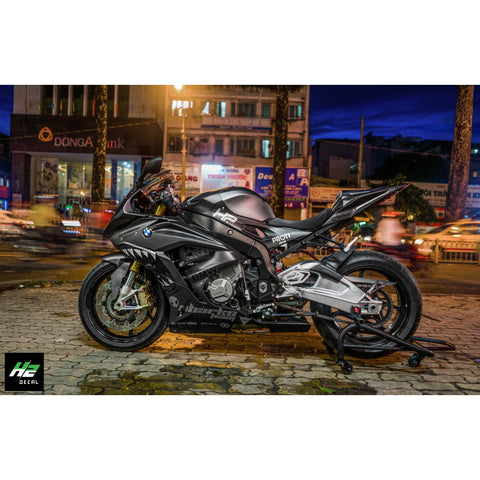 BMW S1000RR Stickers Kit - 023 - H2 Stickers - Worldwide
