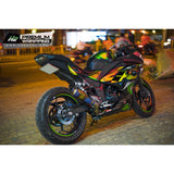 Kawasaki Ninja 300 Stickers Kit - 008 - H2 Stickers - Worldwide