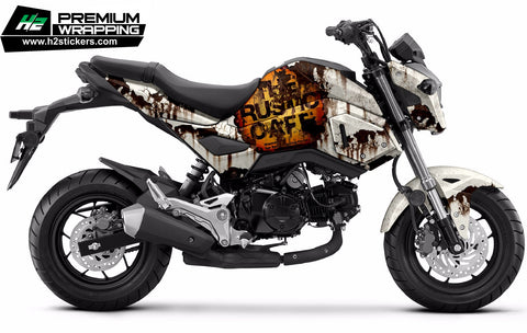 HONDA Grom Stickers Kit - 001 - H2 Stickers - Worldwide