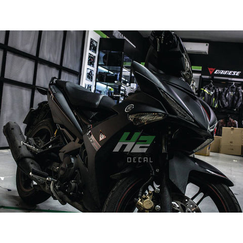 Yamaha Exciter 150 (Y15ZR) Stickers Kit - 022 - H2 Stickers - Worldwide