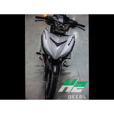 Yamaha Exciter 150 (Y15ZR) Stickers Kit - 026 - H2 Stickers - Worldwide