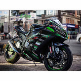 Kawasaki Ninja ZX10R Stickers Kit - 001 - H2 Stickers - Worldwide