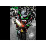 Kawasaki Ninja ZX10R Stickers Kit - 003 - H2 Stickers - Worldwide