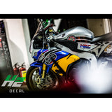 Honda CBR1000RR Stickers Kit - 003 - H2 Stickers - Worldwide