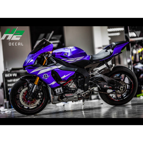 Yamaha Yzf R1 Sticker Kit Decal Package Vinyl Wrap