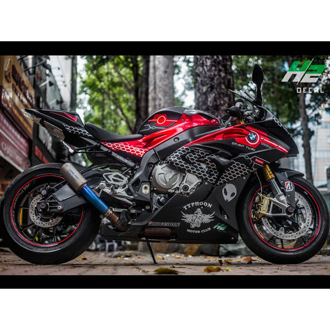 BMW S1000RR Stickers Kit - 009 - H2 Stickers - Worldwide