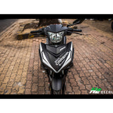 Yamaha Exciter 150 (Y15ZR) Stickers Kit - 076 - H2 Stickers - Worldwide