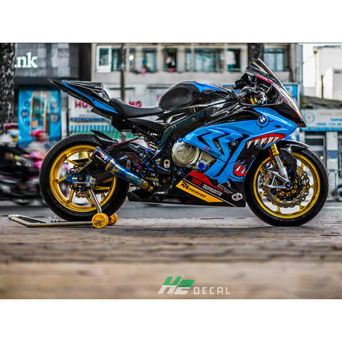 BMW S1000RR Stickers Kit - 015 - H2 Stickers - Worldwide