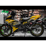 Yamaha Exciter 150 (Y15ZR) Stickers Kit - 040 - H2 Stickers - Worldwide