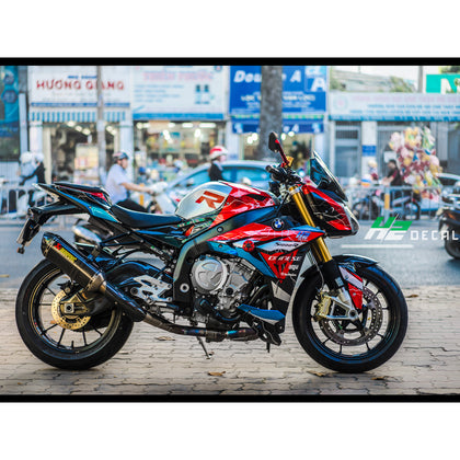 BMW S1000R Stickers Kit - 003 - H2 Stickers - Worldwide