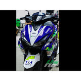 Yamaha Aerox Stickers Kit - 004 - H2 Stickers - Worldwide
