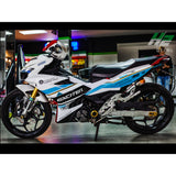 Yamaha Exciter 150 (Y15ZR) Stickers Kit - 066 - H2 Stickers - Worldwide