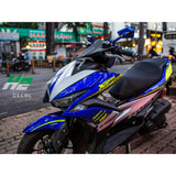 Yamaha Aerox Stickers Kit - 007 - H2 Stickers - Worldwide