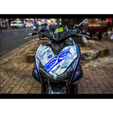 Yamaha Aerox Stickers Kit - 012 - H2 Stickers - Worldwide