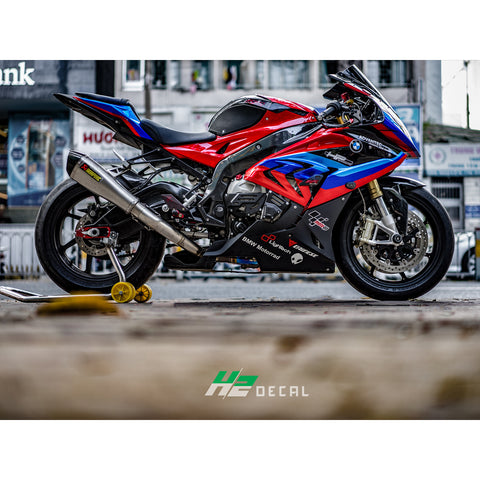 BMW S1000RR Stickers Kit - 016 - H2 Stickers - Worldwide