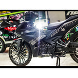 Yamaha Exciter 150 (Y15ZR) Stickers Kit - 095 - H2 Stickers - Worldwide