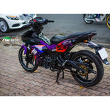 Yamaha Exciter 150 (Y15ZR) Stickers Kit - 087 - H2 Stickers - Worldwide