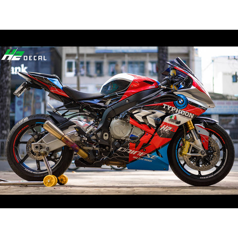 BMW S1000RR Stickers Kit - 017 - H2 Stickers - Worldwide