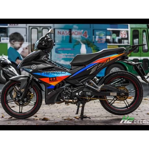 Yamaha Exciter 150 (Y15ZR) Stickers Kit - 093 - H2 Stickers - Worldwide