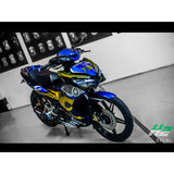 Yamaha Exciter 150 (Y15ZR) Stickers Kit - 050 - H2 Stickers - Worldwide