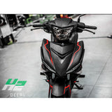Yamaha Exciter 150 (Y15ZR) Stickers Kit - 056 - H2 Stickers - Worldwide