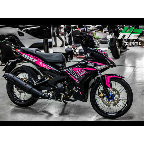 Yamaha Exciter 150 (Y15ZR) Stickers Kit - 059 - H2 Stickers - Worldwide