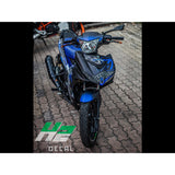 Yamaha Exciter 150 (Y15ZR) Stickers Kit - 064 - H2 Stickers - Worldwide