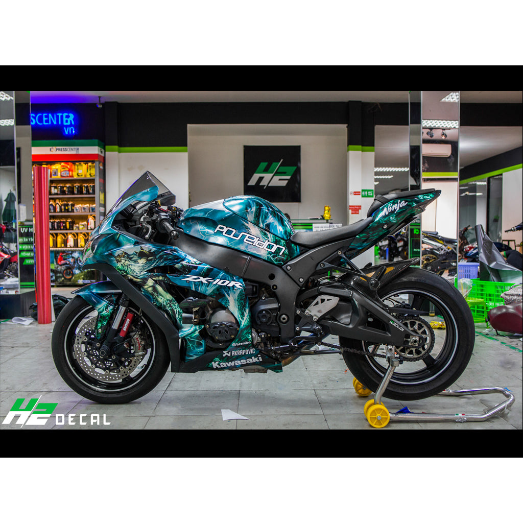 Kawasaki Ninja Zx10r Stickers Kit 004