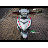 Yamaha Exciter 150 (Y15ZR) Stickers Kit - 082 - H2 Stickers - Worldwide