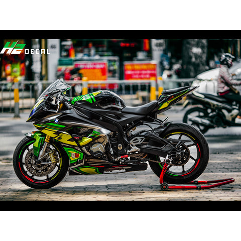 BMW S1000RR Stickers Kit - 013 - H2 Stickers - Worldwide