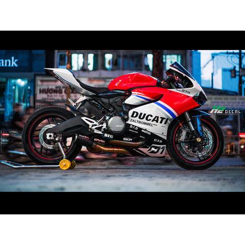 Ducati Panigale Stickers Kit - 009 - H2 Stickers - Worldwide