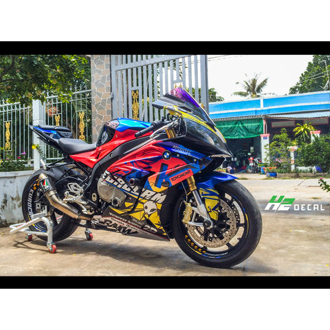 BMW S1000RR Stickers Kit - 019 - H2 Stickers - Worldwide