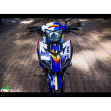 Yamaha Exciter 150 (Y15ZR) Stickers Kit - 077 - H2 Stickers - Worldwide