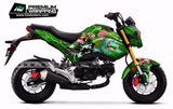 HONDA Grom Stickers Kit - 011 - H2 Stickers - Worldwide