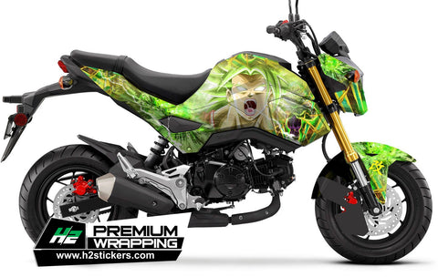 HONDA Grom Stickers Kit - 015 - H2 Stickers - Worldwide