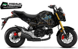 HONDA Grom Stickers Kit - 016 - H2 Stickers - Worldwide