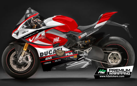 Ducati Panigale Stickers Kit - 030 - H2 Stickers - Worldwide