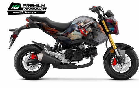 HONDA Grom Stickers Kit - 005 - H2 Stickers - Worldwide