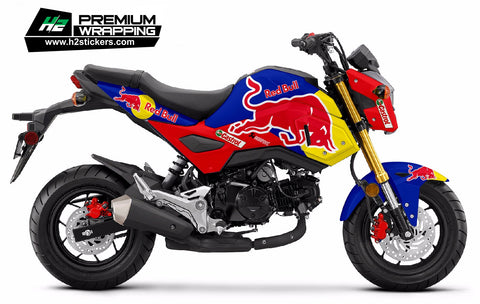 HONDA Grom Stickers Kit - 006 - H2 Stickers - Worldwide