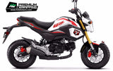 HONDA Grom Stickers Kit - 008 - H2 Stickers - Worldwide
