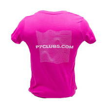 Load image into Gallery viewer, P7 Pink Wave T-shirt