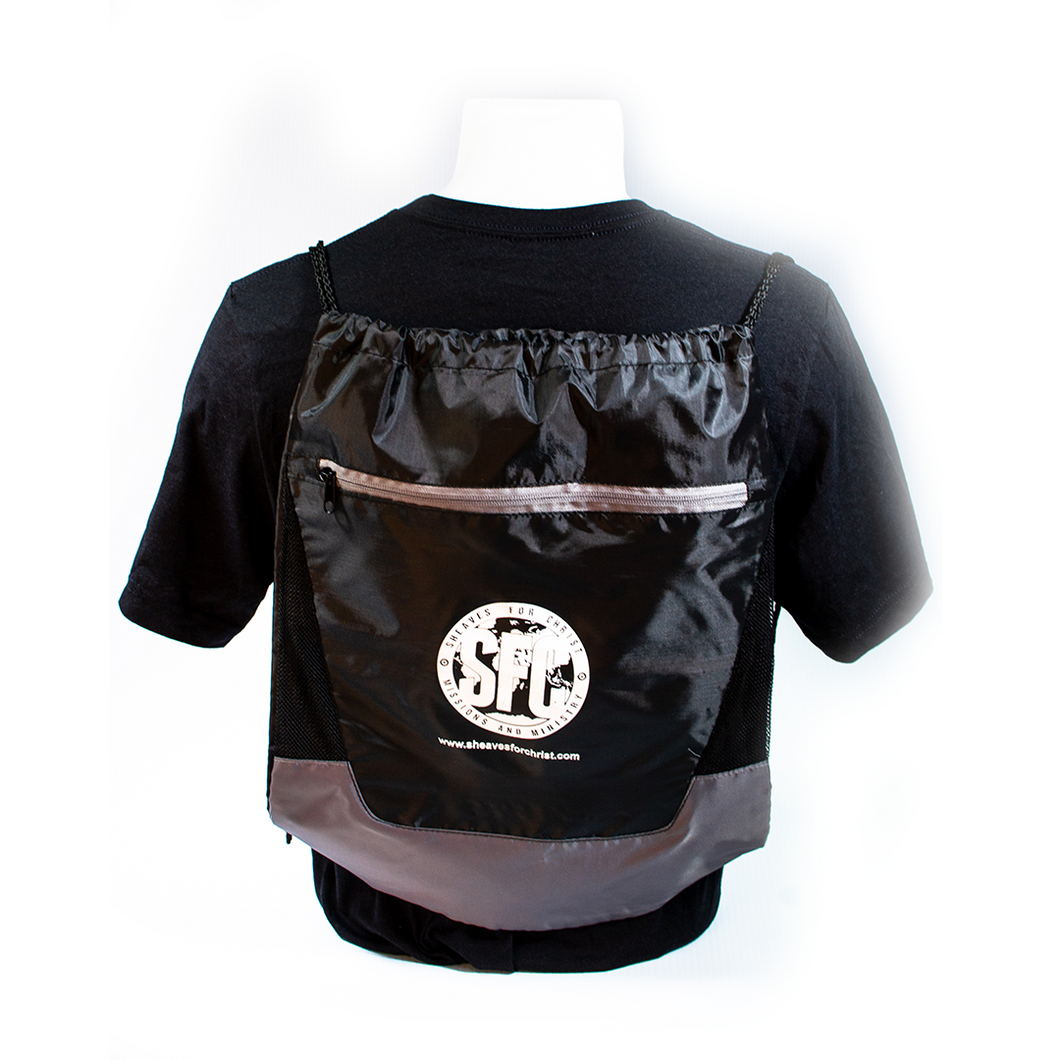 SFC Drawstring Bag-Black