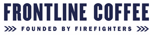 Frontline Coffee logo. Buy Coffee Beans of Buy Ground coffee for home, office or work use.