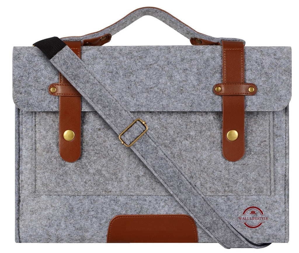 Light Grey Laptop Bag - East Watch Collection